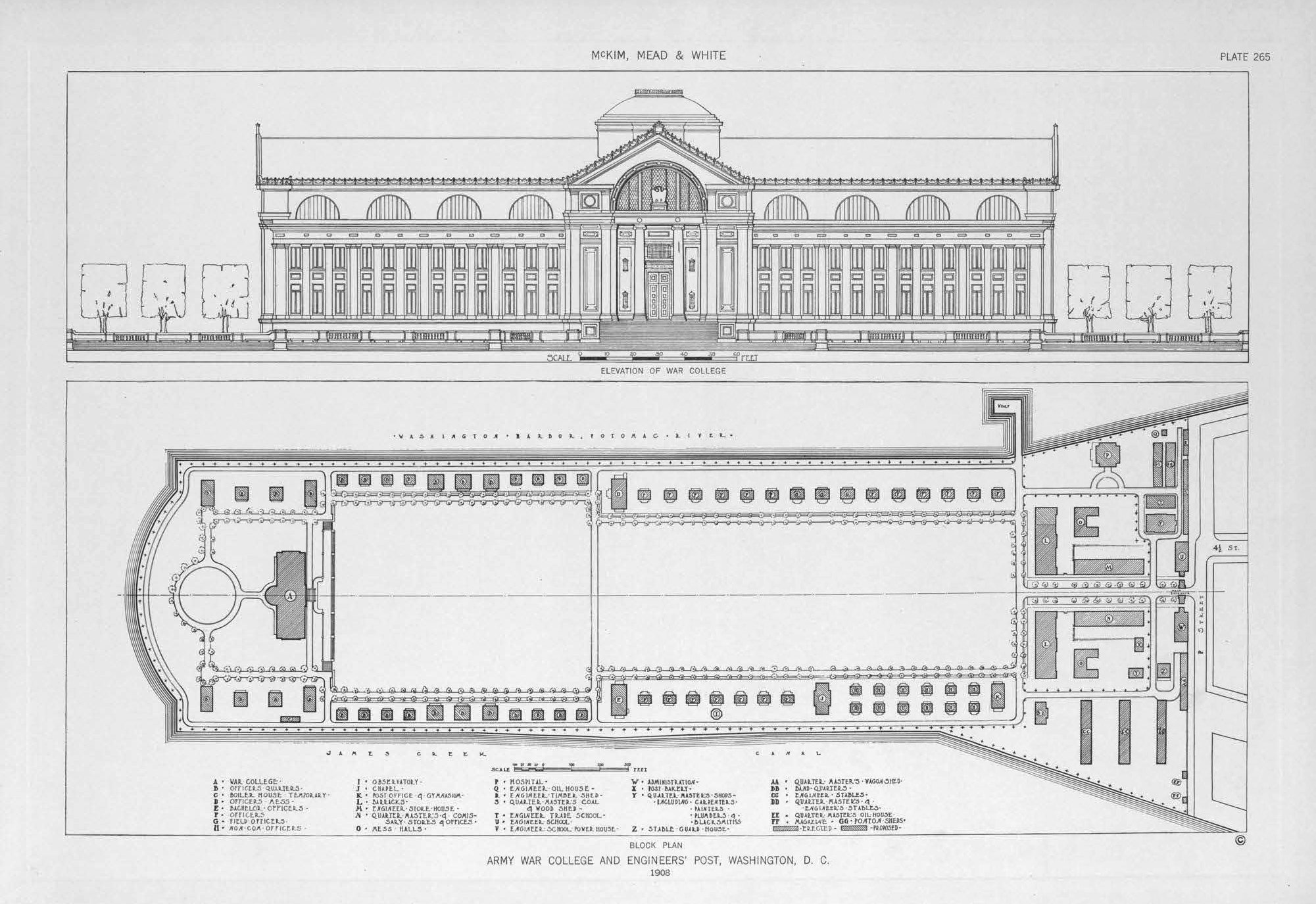 red fort structure